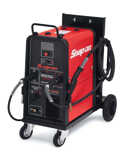 Dual Torch Double Pulse Synergic Mig Welder Mig225ai Snap On Store